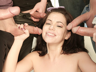 Belle Noir in 'Teen Cum Surprise'